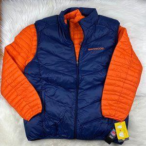 Denver Broncos 3 in 1 System Jacket NFL Men XL